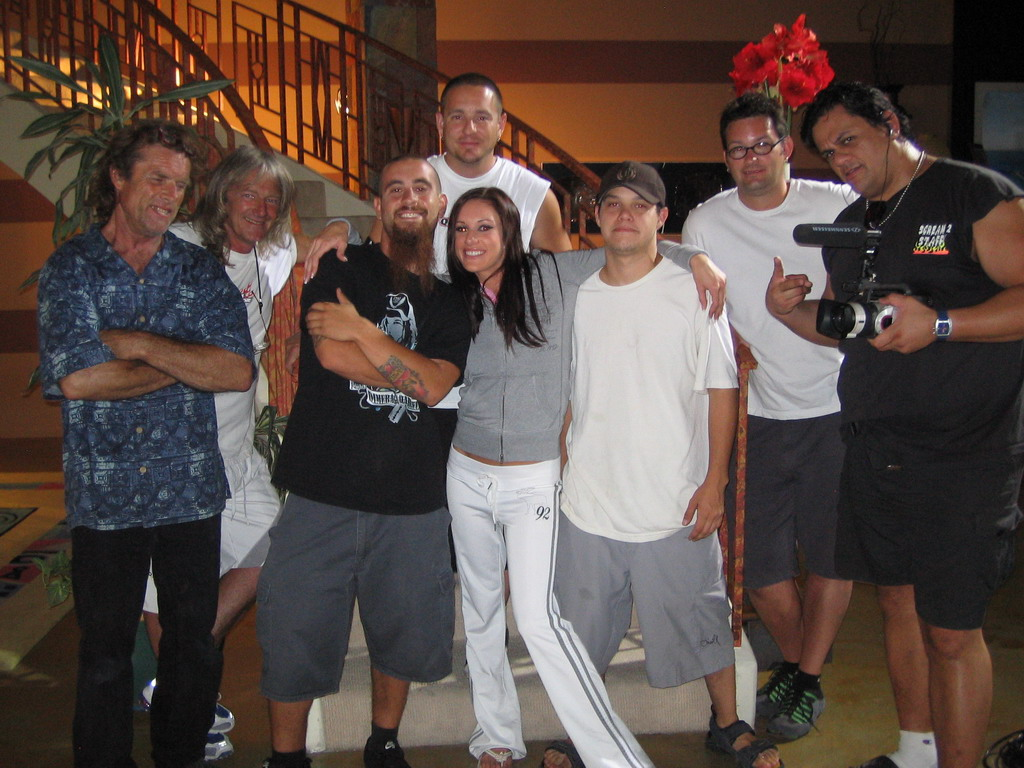 The Crew of Spunk In The Trunk Directed by Taylor Rain