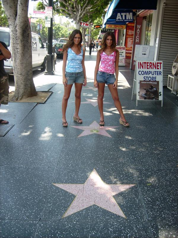 Lacey and Lyndsey Love in Hollywood